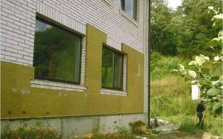 Пенополистирол штукатурный фасад монтаж на стены деревянного дома