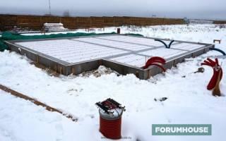 Какой толщины эппс для утепления фундамента?