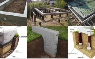 Какой фундамент для одноэтажного дома 10 на 12 из газобетона?