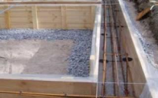Какой ширины должен быть фундамент под баню из бревна?