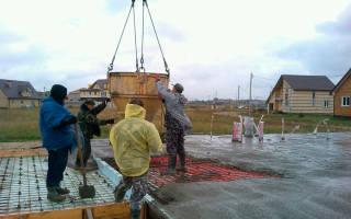 Можно ли устанавливать фундамент на бетонных блоках в дождь?