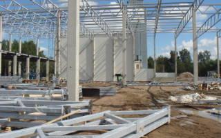 Монтаж стеллажей и других конструкций закрепляемых на фундаментах внутри зданий