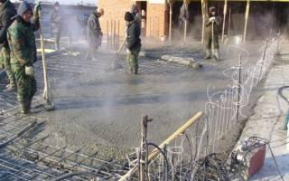 Прогрев бетона электродами запрещен