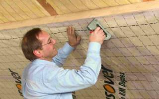 Утепление снаружи потолка в частном доме и пароизоляция своими руками