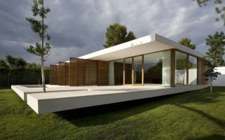 Проекты современных домов и коттеджей в стиле минимализм