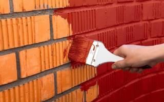 Покраска стены под кирпич своими руками и покраска