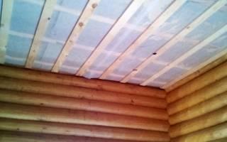 Пароизоляция потолка в ванной комнате в частном доме