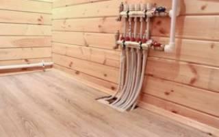 Теплый пол в помещениях с деревянным основанием