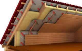 Нужна ли пароизоляция под профнастил холодной крыши на гараже