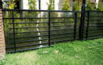 Забор из поликарбоната между соседями высота