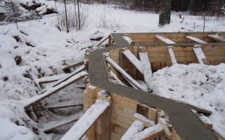 Можно ли заливать фундамент зимой и что для этого нужно?