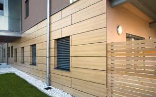 Фасадные панели для наружной отделки дома негорючие
