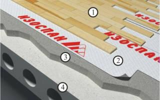 Нужна ли пароизоляция при укладке ламината на бетонный пол